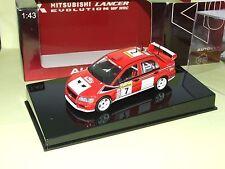 Mitsubishi Lancer Rallye Monte Carlo 2002 F. Delecour Autoart 1:43 9ème