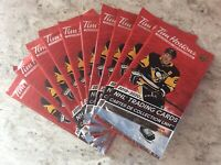 2019-20 Upper Deck Tim Hortons Packs NHL Hockey Cards Crosby(10 Unopened Packs )