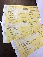 A vendre 4 places de concert de U2 à Milan le 15/10/2018