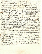 William Frost Maine Revolutionary War Officer Autograph Letter Signed 1817