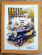 Pebble Beach Concours d'Elegance original program 1995