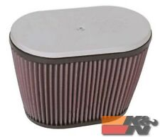 K&N Uni Clamp-On Air Filter For 1-3/4DUAL, 6-1/4H RD-3400