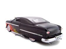 1949 FORD W/460 ENGINE BLOWER BLACK 1:24 DIECAST MODEL CAR UNIQUE REPLICAS 18590