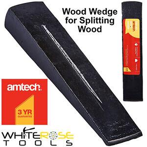 Amtech Wood Wedge Split Log Splitter Timber Splitting Tool Grenade Bomb