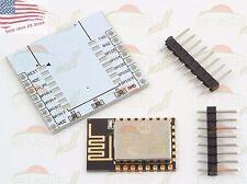 ESP8266 ESP-12F Wireless Remote Serial WiFi Module Transceiver + Adapter Plate