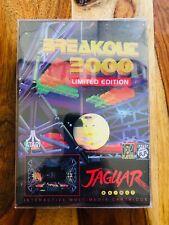 Breakout 2000 Limited Edition Atari Jaguar - Telegames - NEW SEALED lot a3