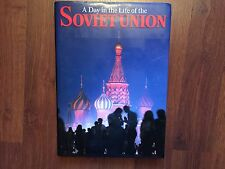 A Day in the Life of the Soviet Union (1987, hardcover) store#6162