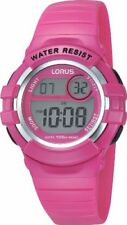 Relojes de pulsera digitales Lorus de goma