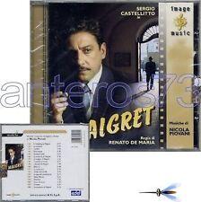 "NICOLA PIOVANI ""MAIGRET"" RARO CD OST - SEALED"