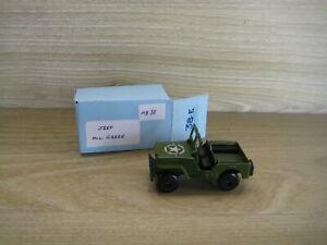 MATCHBOX SUPERFAST (69-83) MB38C  JEEP  Military Green   NO Gun  Star Label