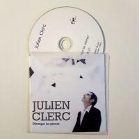 JULIEN CLERC (titre CARLA BRUNI) : DERANGER LES PIERRES ♦ PROMO CD SINGLE ♦