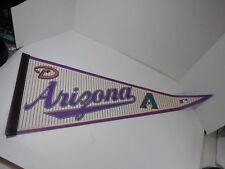 2005 WINCRAFT SPORTS MLB BASEBALL TEAM ARIZONA DIAMONDBACKS FELT PENNANT BANNER