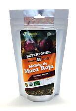 Red Maca Organic powder 200g Energy Libido Stamina Memory Booster