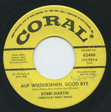 Hear - Rare Teen 45 - Bobbi Martin - Auf Wiedersehen, Good Bye - Coral # 62466