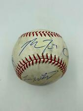 Mike Trout Rookie Season 2011 LA Angels Team Signed Game Used MLB Baseball JSA