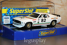 Slot SCX Scalextric Superslot H3538 Ford Mustang 1969 BOSS 302 GTX Nº82 - New