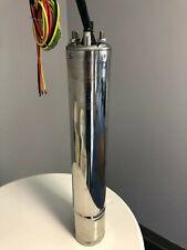 "4"" Submersible Well Pump Motor 2HP (Heavy-Duty Oil-Filled) Motor - 230V 3Ph 60Hz"