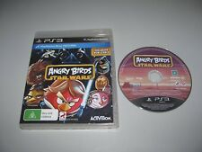 """Star Wars Angry Birds Great PS3  Game Tested And Plays """"Free Postage"""""""