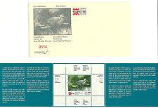 Pair 1996 Quebec Wildlife Habitat Conservation Stamps, incl. CAPEX w/ envelope