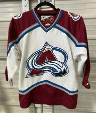 Colorado Avalanche Jersey - Youth L/Xl - Pro Player - Vintage - Avs Nhl