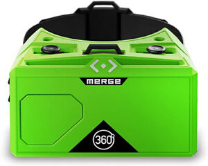 Merge VR headset RARE Alien Green- comfort soft & Adjustable