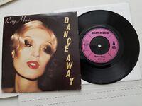 "ROXY MUSIC - Dance Away / Cry Cry Cry 1979 NEW WAVE POP ROCK Bryan Ferry UK 7"""