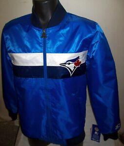 TORONTO BLUE JAYS MLB STARTER Full Zip Jacket Sping/Summer BLUE / SKY BLUE