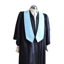 Graduation Honour Stole University Bachelor Master Academic Pale Blue Choir Sash