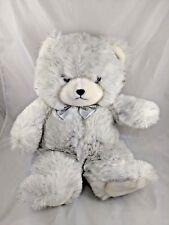 """Glitter Bear Mighty Star Plush 18"""" 24K Polar Puff Stuffed Animal"""