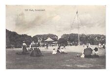 Vintage postcard Cliff Park, Dovercourt, Essex. pmk Harwich 1913