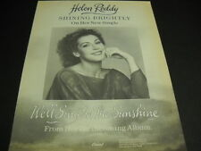 Helen Reddy shining brightly w/ Sing In The Sunshine 1978 Promo Poster Ad mint