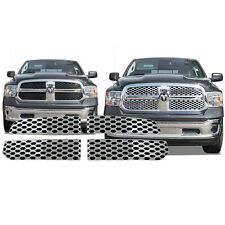 FREE SHIPPING: 2013-2015 Dodge Ram 1500 Chrome Grille Overlay #119