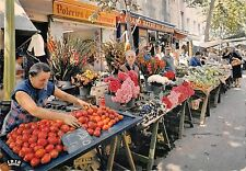 B99247 cote d azur provence market france costumes types ethnics folklore