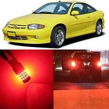 Alla Lighting Brake Turn Signal Light 3057 Red LED Bulb for 95~05 Chevy Cavalier
