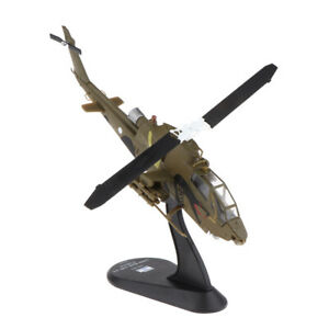 1:72 Bell AH-1S Attack Air Force Helicopter Model Metal   Aircraft Kids
