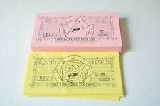 Game of Life Spongebob Squarepants  replacement part pieces - money