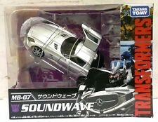 ▲TAKARA TOMY TRANSFORMERS MOVIE THE BEST MB-07 SOUNDWAVE ACTION FIGURE Xmas