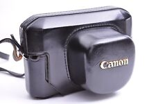 Vintage!! Canon Camera Leather Case for Canon Model 7 From JAPAN VGC