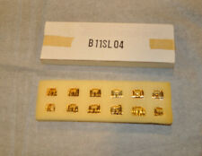 New Franklin Mint Monopoly Hotels Gold Plated Complet Set 12 Great Replacement
