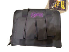 Voodoo Tactical 25-0017160000 Pistol Handgun Grey/Purple Case + Magazine Pouch