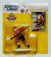 THEOREN FLEURY Calgary Flames Kenner Starting Lineup SLU NHL 1995 Figure & Card