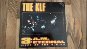"""THE KLF - 3 A.M. ETERNAL    12"""" VINYL  Single"""