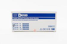 Dental Sterilized Disposable Injection Needles 27G Short (0.4 X 21mm) 100/Box
