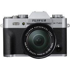 Fujifilm X-T20 Silver Camera + 16-50mm F3.5-5.6 OIS II Black Lens Kit NIB
