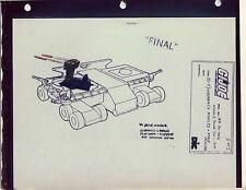 "G.I. Gi Joe General's Missile Launcher Model Cel ""Photo"" 80-90's Cartoon Dic"