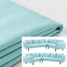 "IKEA Norsborg Corner Sofa Cover NEW""2+3/3+2"" 5 Seat Sectional Edum Light Blue"