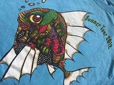 Jason Bobbit 2012 Summer Tour T-Shirt Actor Director Movie One Eyed Fish Large L
