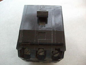Square D Triple Pole MCB, QO-X Range, 15 amp