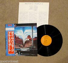 ROCK AL STEWART TIME PASSAGES LP RECORD JAPAN OBI EXCELLENT*