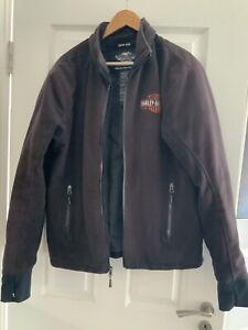 Harley Davidson Men's Soft Jacket Size M Riding Gear Black Genuine Motor Cycle